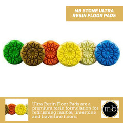 MB Stone Ultra Resin Floor Pads