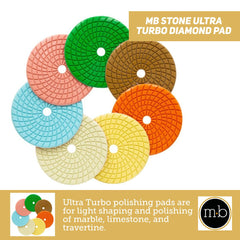 MB Stone Ultra Turbo Diamond Pad