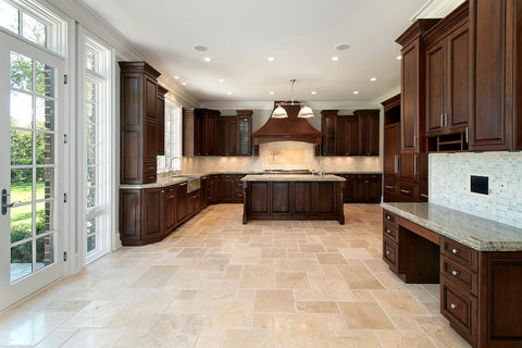 Natural-cleft finished stone floors - MB Stone Pro