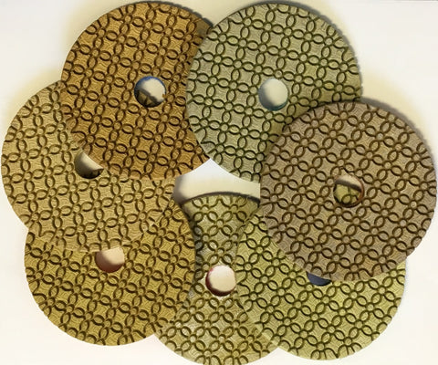 4 Inch Clover ES Diamond For Engineered Stone