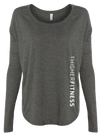 ATHLETIC HEATHER GRAY LONG SLEEVE | WOMEN | LWBJ STYLE | LADIES FLOAT