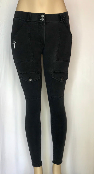 Movement Cargo Jean- Vintage Black