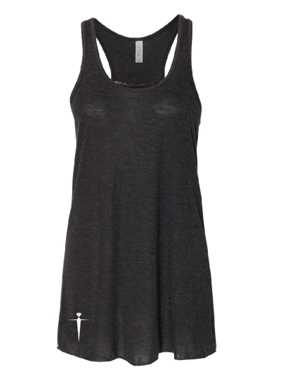 RACERBACK BLACK TANK TOP | WOMEN | LWBJ TOPS