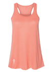 RACERBACK PEACH TANK TOP | WOMEN | LWBJ TOPS