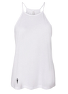 HIGH NECK SNOWY WHITE TANK IN | WOMEN |  LWBJ TOPS