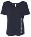 DOLMAN TOP MIDNIGHT BLUE T-SHIRT | WOMEN | LWBJ TOPS