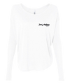 ATHLETIC HEATHER WHITE LONG SLEEVE | WOMEN | LWBJ STYLE | LADIES FLOAT