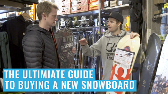 The Ultimate Guide For Buying A New Snowboard