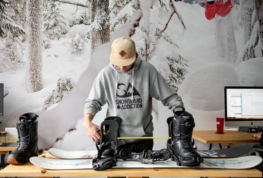 How to setup your snowboard