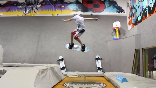How To Shifty 180 On A Tramp Board