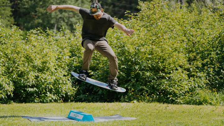 How To Cab 180 In On A Training Board