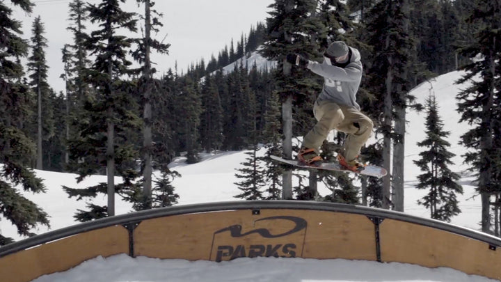 How To Hardway Frontside 270 On A Training Board