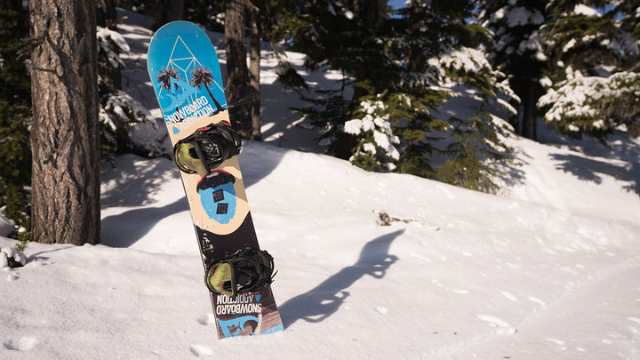 Parts Of A Snowboard