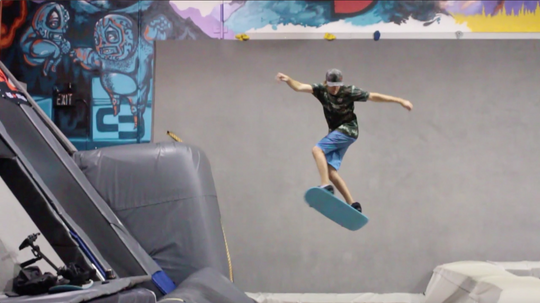 How To Stall Out Your 360s On A Tramp Board