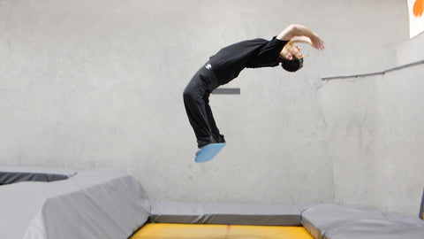 How To Barrel Roll Backflip On A Tramp Board