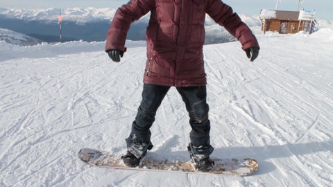 The Perfect Snowboard Body Position