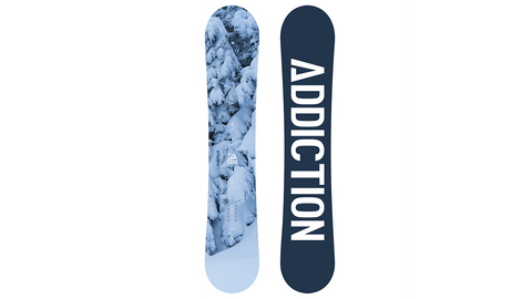Snowboard Addiction White Line