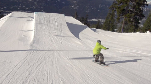 Hitting Bigger Jumps On A Snowboard