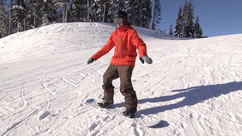 How To Sideslip on a Snowboard
