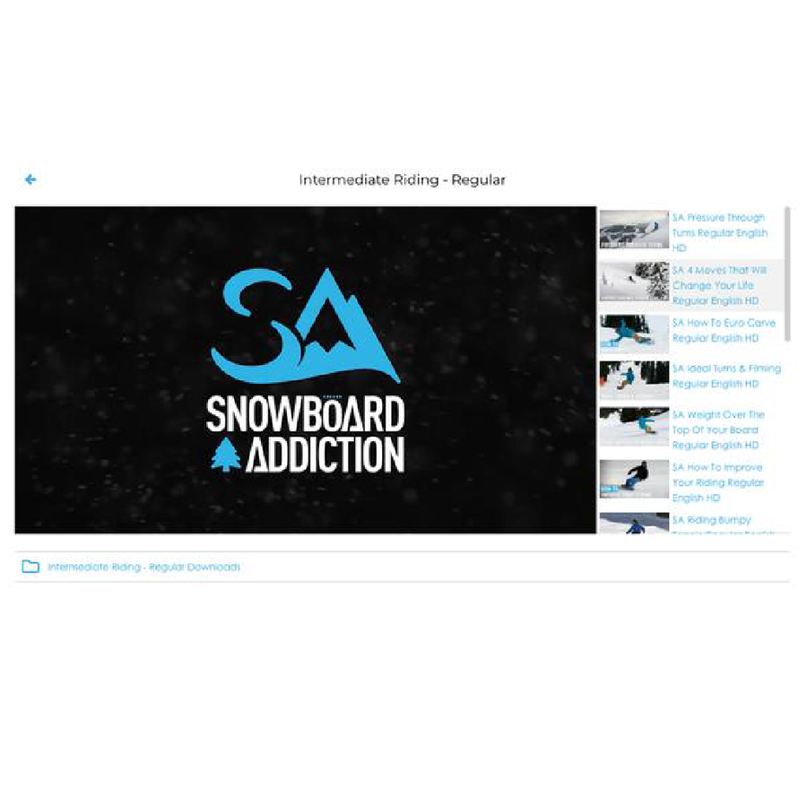 Snowboard Tutorial Membership