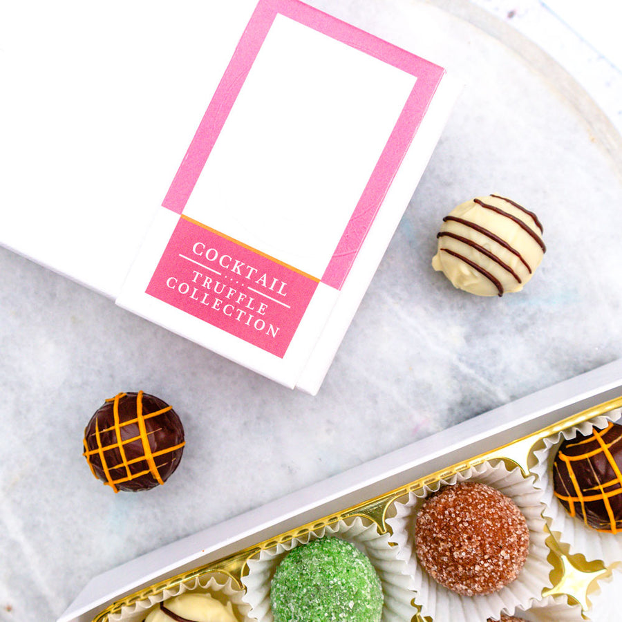 Cocktail Chocolate Truffles Gift Box