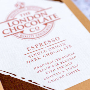 coffee espresso luxury chocolate bar