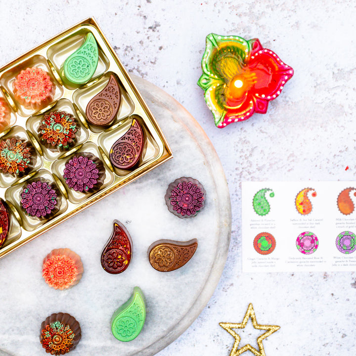 luxury diwali chocolates