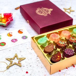 luxury diwali chocolates gift box