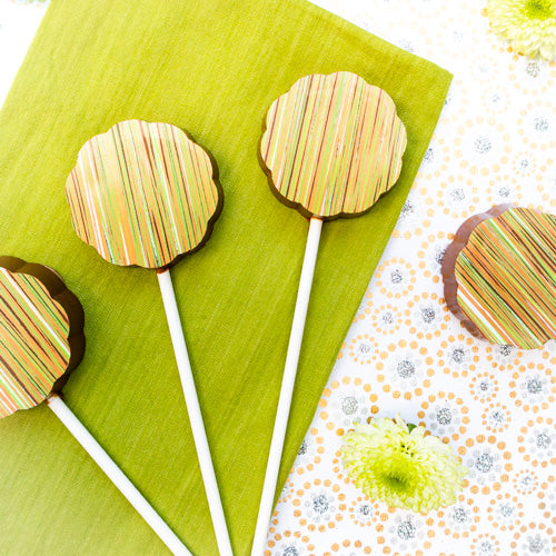 gin lollipops by the london chocolate company