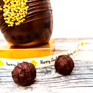 Vegan Easter Egg with truffles