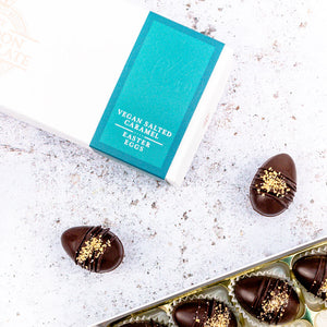 vegan mini easter eggs gift box