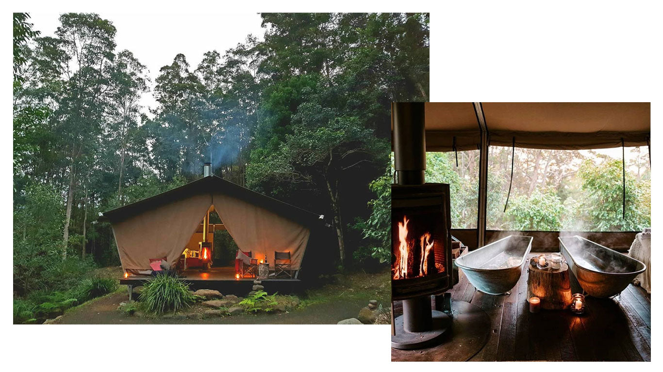 Noelle's Woodland Traveller's Guide - Nightfall - The ultimate glamping experience.