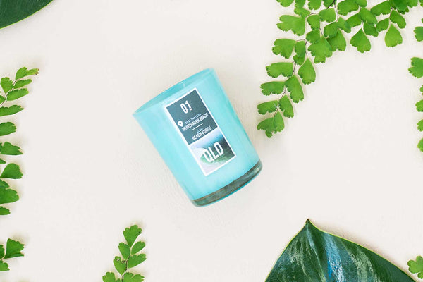 "NOELLE AUSTRALIA | Australian Landmark Home Fragrance Collection - Queensland - Whitehaven Beach - ""Beach Surge"" Scented Soy Candle to transform your home into a SPA paradise"