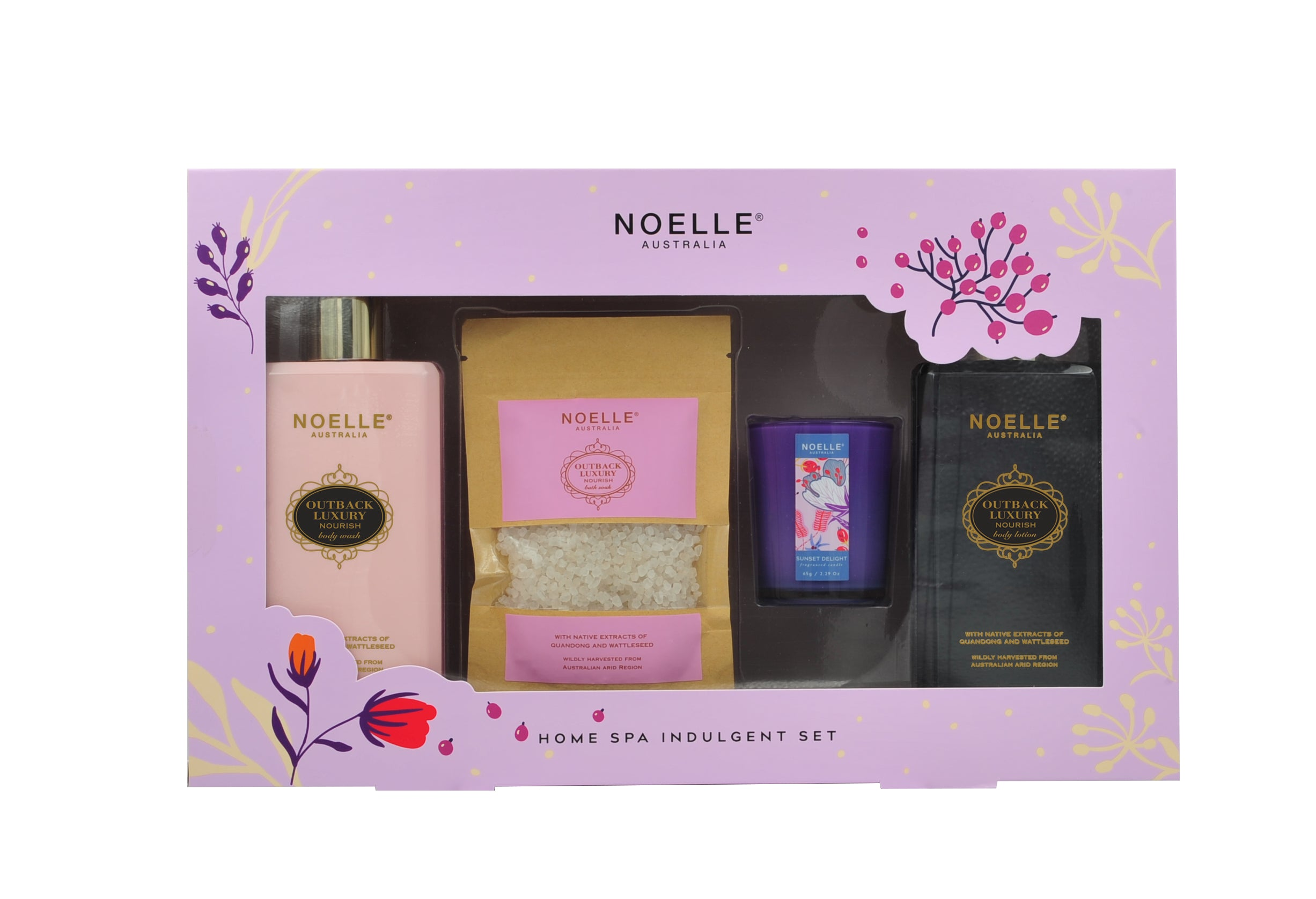 Noelle Australia - Nourish Home Spa Kit - Bath & Body