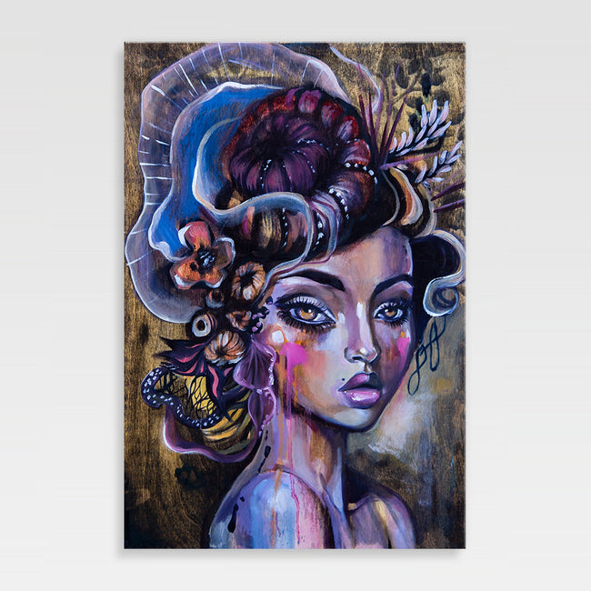 Urban Art Company - Didi Contreras - Weeping Beauty - Canvas