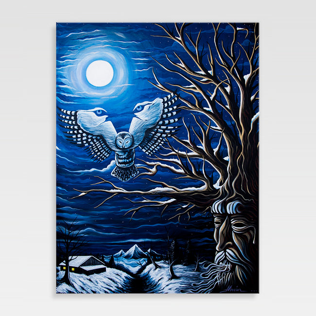 Urban Art Company - Alvin Surreal - Mystic Moonlight  - Canvas