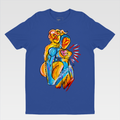Urban Art Company - King Redd - Him and Her - T-Shirt - Royal Blue