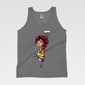 Urban Art Company - Didi Contreras - Buff Princess - T-Shirt - Athletic Grey