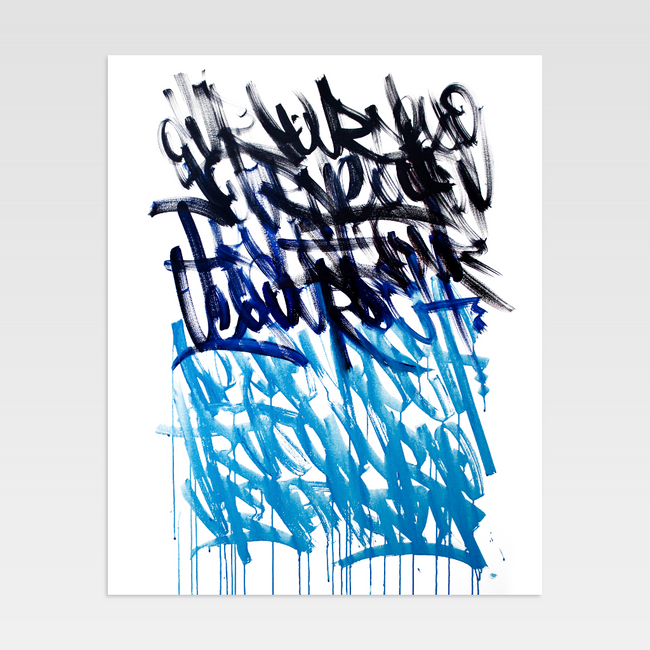 Urban Art Company - Bash - Trust Your Journey II - Limited Print