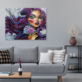 Urban Art Company - Didi Contreras - Winter's Rose - Canvas