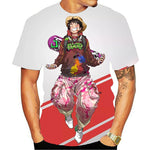 T-Shirt One Piece Street Luffy