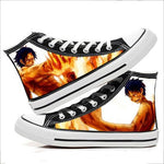 Chaussure One Piece Ace et Luffy