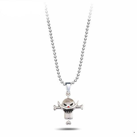 Collier One Piece Barbe Blanche