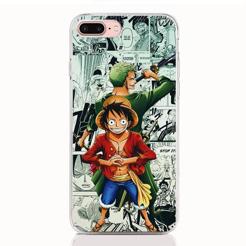 Coque One Piece LG Luffy & Zoro