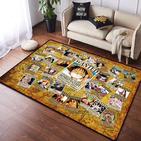 Tapis One Piece Wanted