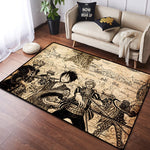 Tapis One Piece Démoniaque