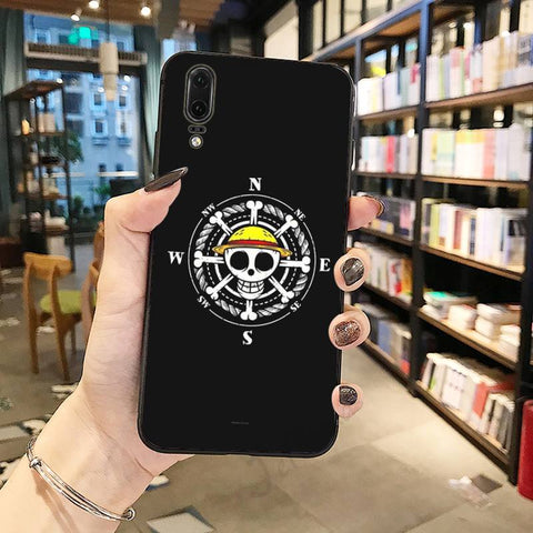 Coque One Piece Huawei Naviguation