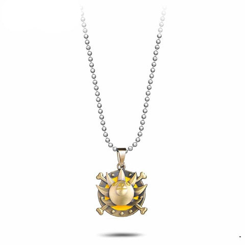 Collier One Piece Thousand Sunny Or