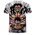 T-Shirt One Piece Luffy Gear Fourth