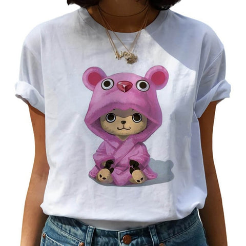 T Shirt One Piece Chopper Femme